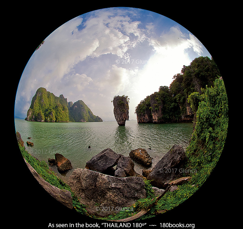 "Koh Tapu, ""James Bond Island"" in Phang Nga Bay, Thailand"
