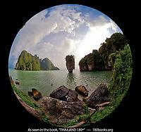 "Koh Tapu, ""James Bond Island"" in Phang Nga Bay, Thailand"