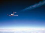 Gulfstream-IISP contrail