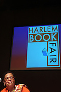 21 July 2011- Harlem, NY- Dr. Juliane Malveaux at the 2011 Harlem Book Fair held along West 135th Street and at The Schomburg Center on July 23, 2011 in the village of Harlem, USA. Photo Credit: Terrence Jennings