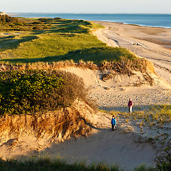 Dunes on Bound Brook Island, Cape Cod National Seashore, Wellfleet, Massachusetts.