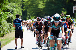 Hannah Barnes (GBR) on Stage 4 of 2019 Giro Rosa Iccrea, a 101.7 km road race from Lissone to Carate Brianza, Italy on July 8, 2019. Photo by Sean Robinson/velofocus.com