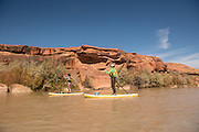 Paddling and exploring the San Juan River in southern Utah on SUP, raft, canoe and kayak.