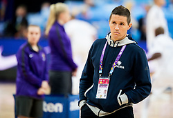 Jaka Lakovic, assistant coach of Slovenia during basketball match between National Teams of Finland and Slovenia at Day 3 of the FIBA EuroBasket 2017 at Hartwall Arena in Helsinki, Finland on September 2, 2017. Photo by Vid Ponikvar / Sportida