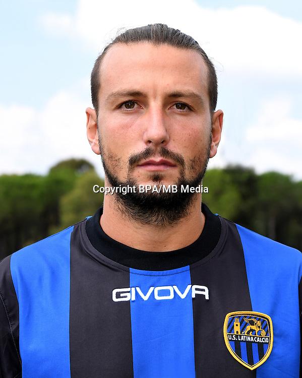 Italian League Serie B -2016-2017 / <br /> ( U.S. Latina Calcio ) - <br /> Daniele Paponi