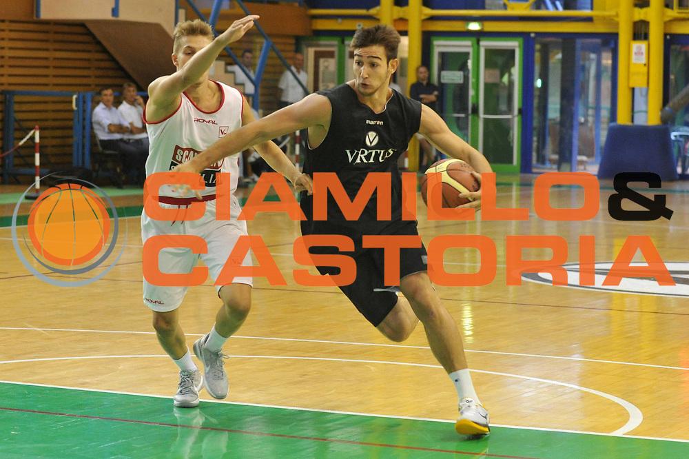 DESCRIZIONE : Bologna Lega A 2011-12 Virtus Bologna Scavolini Pesaro<br /> GIOCATORE : Riccardo Moraschini<br /> CATEGORIA :  Palleggio<br /> SQUADRA :Virtus Bologna Scavolini Pesaro<br /> EVENTO : Campionato Lega A 2011-2012<br /> GARA : Virtus Bologna Scavolini Pesaro<br /> DATA : 03/09/2011<br /> SPORT : Pallacanestro<br /> AUTORE : Agenzia Ciamillo-Castoria/M.Gregolin<br /> Galleria : Lega Basket A 2011-2012<br /> Fotonotizia : Bologna Lega A 2011-12 Virtus Bologna Scavolini Pesaro<br /> Predefinita :