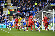 Blackburn Rovers goalkeeper Jason Steele clears the ball during the Sky Bet Championship match between Reading and Blackburn Rovers at the Madejski Stadium, Reading, England on 3 December 2015. Photo by Mark Davies.