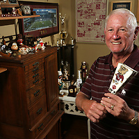 Dr. Ken Ramsey, who has been to 475 straight Mississippi State games.