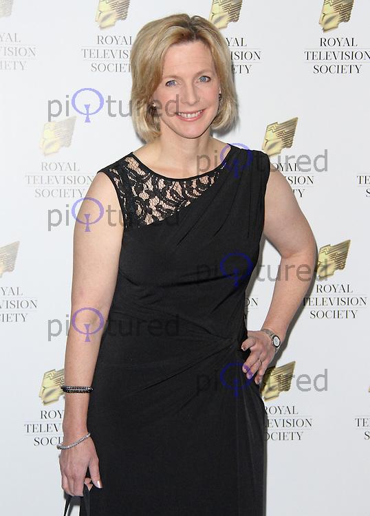 Hazel Irvine, Royal Television Society Programme Awards, Grosvenor House Hotel, London UK, 17 March 2015, Photo By Brett D. Cove