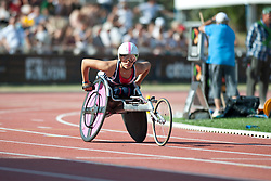 JONES Jade, GBR, 400m, T54, 2013 IPC Athletics World Championships, Lyon, France