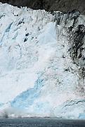 Glacier Calving, Glacier, Ocean, Kenai Fjords National Park, Seward, Alaska