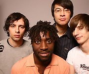 Mercury Nominees, Bloc Party Posing as a group, UK 2005