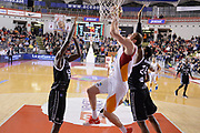 DESCRIZIONE : Roma Lega A 2014-15 Acea Roma Granarolo Bologna<br /> GIOCATORE : Maxime De Zeeuw<br /> CATEGORIA : special tiro sequenza<br /> SQUADRA : Acea Roma<br /> EVENTO : Campionato Lega A 2014-2015<br /> GARA : Acea Roma Granarolo Bologna<br /> DATA : 04/01/2015<br /> SPORT : Pallacanestro <br /> AUTORE : Agenzia Ciamillo-Castoria/GiulioCiamillo<br /> Galleria : Lega Basket A 2014-2015<br /> Fotonotizia : Roma Lega A 2014-15 Acea Roma Granarolo Bologna