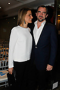 Prince Nikolaos of Greece with his wife Princess Tatiana attend a book presentation for charitable cause.<br /> ©Exclusivepix Media