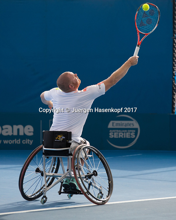 MAIKEL SCHEFFERS (NED), Rollstuhl Tennis<br /> <br /> Tennis - Brisbane International  2017 - ITF -  Pat Rafter Arena - Brisbane - QLD - Australia  - 6 January 2017. <br /> &copy; Juergen Hasenkopf
