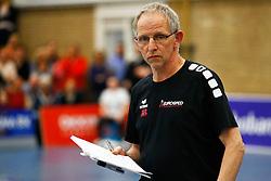 20150425 NED: Eredivisie VC Sneek - Eurosped, Sneek<br />Jan Berendsen, headcoach of Eurosped<br />©2015-FotoHoogendoorn.nl / Pim Waslander
