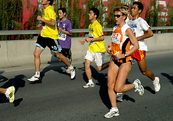 21-10-2007 ATLETIEK: ANA BEIJING MARATHON: BEIJING CHINA<br /> De Beijing Olympic Marathon Experience georganiseerd door NOC NSF en ATP is een groot succes geworden / Sandra ter Horst - de Jonge werd 41ste met een tijd van 3.04.55<br /> ©2007-WWW.FOTOHOOGENDOORN.NL