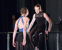 "Ashley Scott & Emmeline Jansen performing in ""Hooked"" choreographed by Emmeline Jansen at English National Ballet Choreographics at The Place Theatre, Euston, London on May 03 2013. Photo: Amber Hunt"