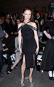 Juliette Lewis appears in the front row at Christian Siriano during the Mercedes-Benz Fall/Winter 2015 shows at Artbeam in New York City, New York on February 14, 2015.