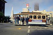Cable Car, San Francisco, California<br />