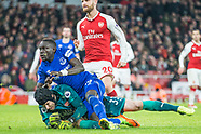 Arsenal v Everton 03/02/2018