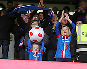 Inverness Caledonian Thistle fans at end - Dundee v Inverness Caledonian Thistle - SPFL Premiership at Dens Park <br /> <br />  - &copy; David Young - www.davidyoungphoto.co.uk - email: davidyoungphoto@gmail.com