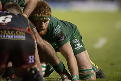 November 3, 2018 - Galway, Ireland - Sean O'Brien of Connacht in action during the Guinness PRO14 match between Connacht Rugby and Dragons at the Sportsground in Galway, Ireland on November 3, 2018  (Credit Image: © Andrew Surma/NurPhoto via ZUMA Press)