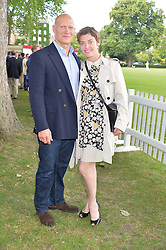CAMILLA RUTHERFORD and DOMINIC BURNS at the Flannels for Heroes Cricket tournament in association with Dockers in aid of the charities Walking With The Wounded, On Course Foundation and Combat Stress held at Burton Court, London on 20th June 2014.