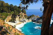 Julia Pfeiffer Burns State Park in Big Sur, CA
