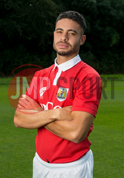 Bristol City's Derrick Williams  - Photo mandatory by-line: Joe Meredith/JMP - Mobile: 07966 386802 05/08/2014 - SPORT - FOOTBALL - Bristol - Ashton Gate - Press Day