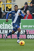 Jacques Maghoma of Birmingham city during the Sky Bet Championship match between Rotherham United and Birmingham City at the New York Stadium, Rotherham, England on 13 February 2016. Photo by Ian Lyall.