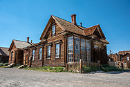 James Stuart Cain home in Bodie. Cain was the principal owner of property in the now ghost town. Some believe this house to be haunted by the ghost of a Chinese maid with a grudge.