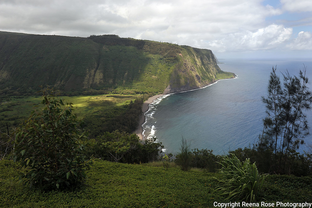Waipio Valley, Waimea, Big Island, Hawaii