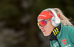 11.01.2018, Chiemgau Arena, Ruhpolding, GER, IBU Weltcup Biathlon, Ruhpolding, Einzel, Damen, im Bild Maren HAMMERSCHMIDT (GER) // during Ladies Individual of BMW IBU Biathlon World Cup at the Chiemgau Arena in Ruhpolding, Germany on 2018/01/11. EXPA Pictures © 2018, PhotoCredit: EXPA/ Ernst Wukits