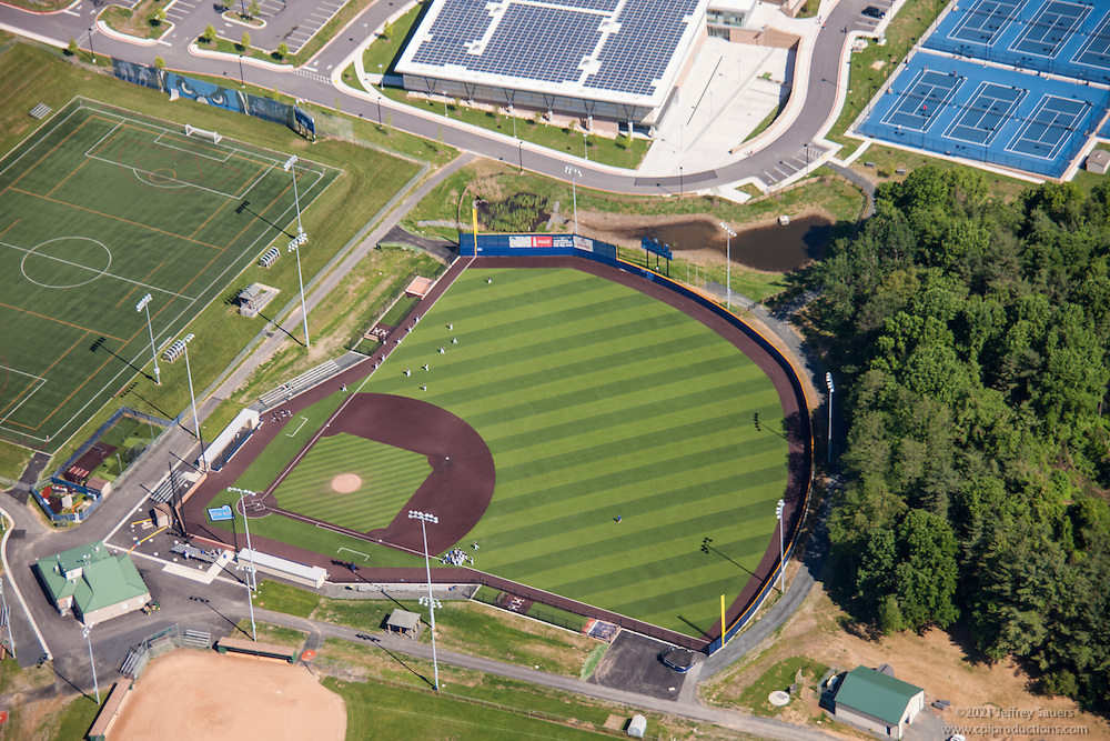 AstroTurf Baseball Field Aerial Image At Harford Community College In Maryland By Jeffrey Sauers Of Commercial