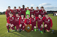 Harris Academy, Dundee Schools FA League Champions, Photo: David Young<br /> <br />  - &copy; David Young - www.davidyoungphoto.co.uk - email: davidyoungphoto@gmail.com
