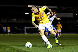 David Wheater of Bolton Wanderers battles with Zeli Ismail of Bury - Mandatory by-line: Robbie Stephenson/JMP - 24/10/2016 - FOOTBALL - Gigg Lane - Bury, England - Bury v Bolton Wanderers - Sky Bet League One