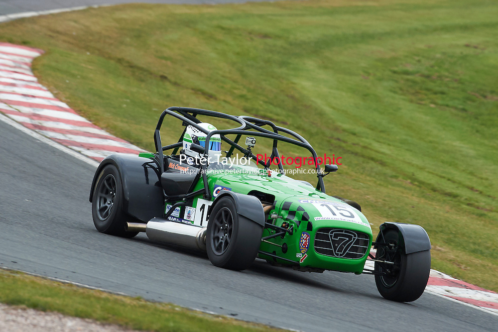 #15 Nick CRESSWELL Caterham 7 1998 during CNC Heads Sports / Saloon Championship as part of the BARC NW - Championship Raceday  at Oulton Park, Little Budworth, Cheshire, United Kingdom. March 19 2016. World Copyright Peter Taylor/PSP. Copy of publication required for printed pictures.  Every used picture is fee-liable. http://archive.petertaylor-photographic.co.uk