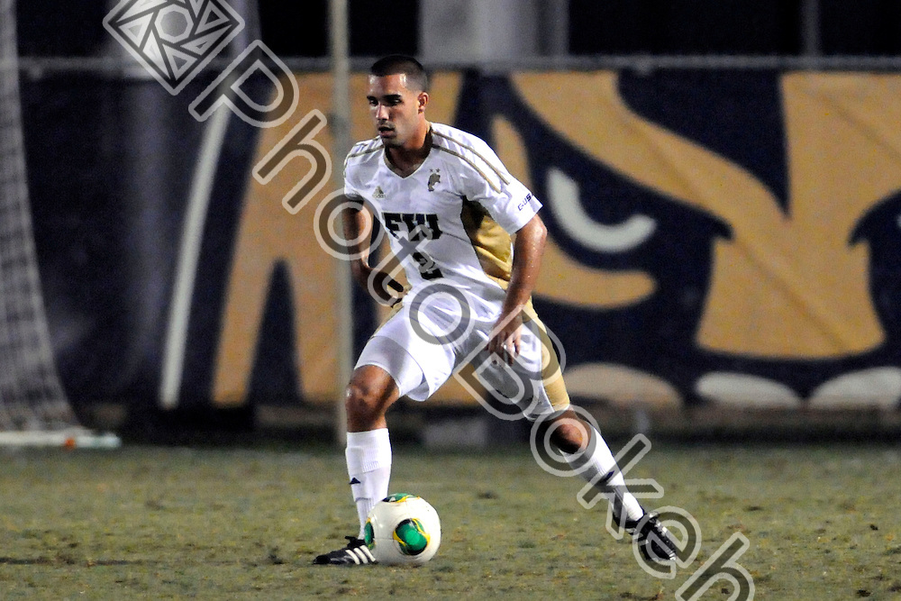 2013 November 08 - FIU's Luke Bray (2).  <br /> Florida International University fell to Charlotte, 3-0, at FIU Soccer Field, Miami, Florida. (Photo by: www.photobokeh.com / Alex J. Hernandez) This image is copyright PhotoBokeh.com and may not be reproduced or retransmitted without express written consent of PhotoBokeh.com. &copy;2013 PhotoBokeh.com - All Rights Reserved
