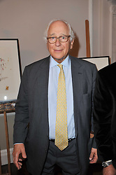 SIR EVELYN DE ROTHSCHILD at a party to celebrate the 60th birthday of Mark Shand and the 50th birthday of Tara the elephant held at 29 Portland Place, London on 25th May 2011.