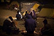 Flüchtlingscamp Idomeni: Mehr als zehntausend Flüchtlinge stecken teilweise seit Wochen an der griechisch-mazedonischen Grenze bei Idomeni fest, nachdem die meisten Länder der Balkanroute ihre Grenzen geschlossen haben.© Christian Mang / mail@christianmang.com