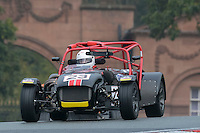 #23 Nicholas Grindrod Caterham R300 2300 during the CSCC Gold Arts Magnificent Sevens at Oulton Park, Little Budworth, Cheshire, United Kingdom. October 15 2016. World Copyright Peter Taylor/PSP. <br /> Copy of publication required for printed pictures.  Every used picture is fee-liable. http://archive.petertaylor-photographic.co.uk