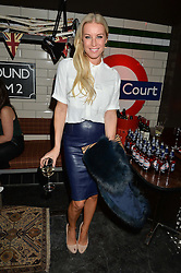 DENISE VAN OUTEN at a party to celebrate the opening of Cahoots - a new nightclub from the Inception Group at 13 Kingly Court, Soho, London on 26th February 2015.