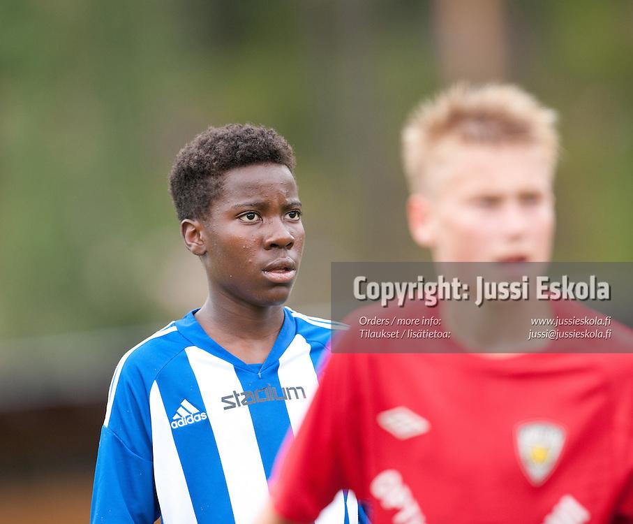 Obeb Malolo, HJK - KäPa/United. Premier Cup. Finaali. Pajulahti 14.8.2011. Photo: Jussi Eskola