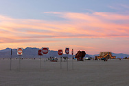 Pastel Playa at dusk My Burning Man 2019 Photos:<br />