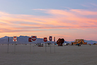 Pastel Playa at dusk