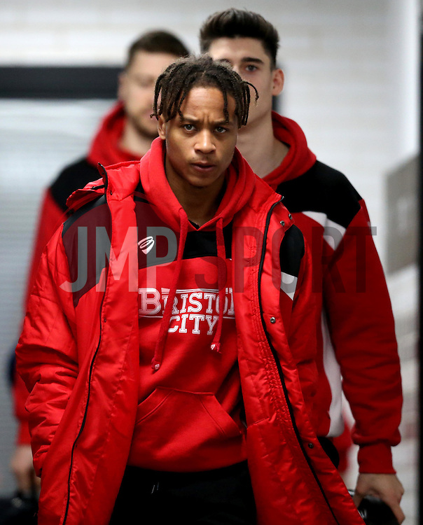 Bobby Reid of Bristol City arrives at The iPro stadium ahead of the Sky Bet Championship fixture with Derby County - Mandatory by-line: Robbie Stephenson/JMP - 11/02/2017 - FOOTBALL - iPro Stadium - Derby, England - Derby County v Bristol City - Sky Bet Championship