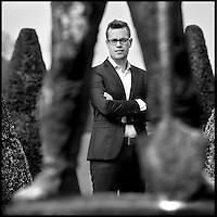 Nederland, De Bilt , 28 april 2015.<br /> Vincent Sieben,  Marketeer Grontmij Nederland | Voorzitter NIMA Young Professionals | Marketing Talent of the Year...<br /> Foto:Jean-Pierre Jans