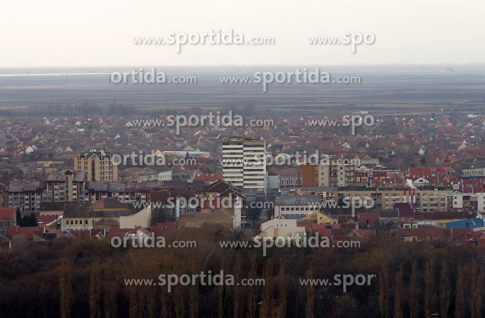 Vrsac, host city of 10th EHF European Handball Championship Serbia 2012, on January 14, 2012 Vrsac, Serbia.  (Photo By Vid Ponikvar / Sportida.com)