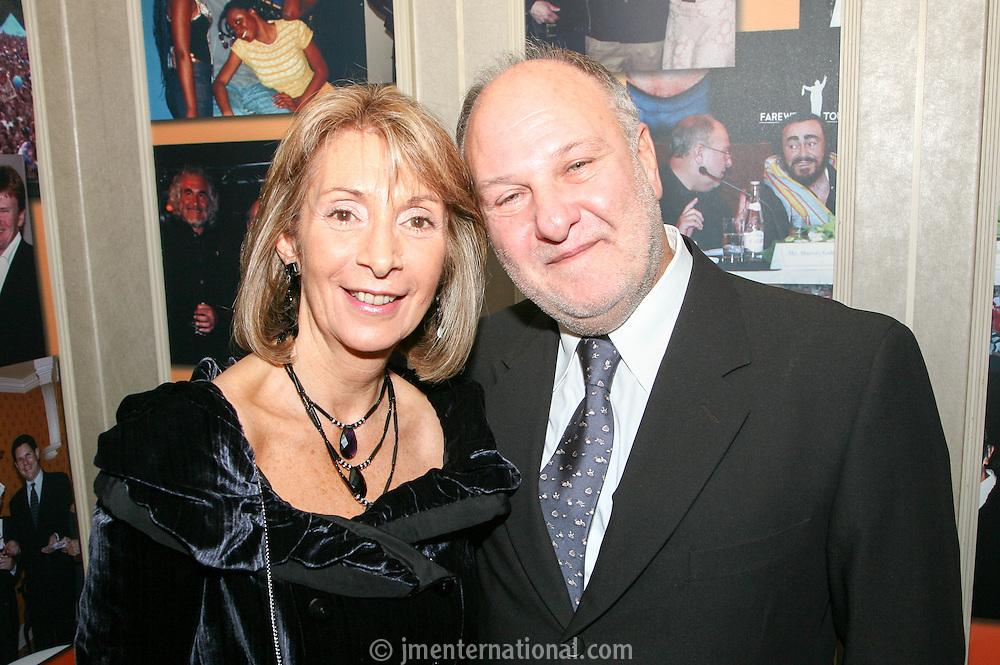 Diana and Harvey Goldsmith CBE